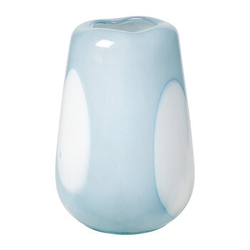 Ada Dot Vase - Light Blue - Small