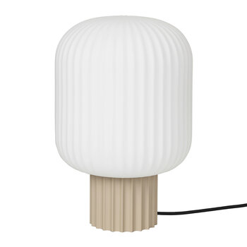 Lolly Table Lamp - Sand/White