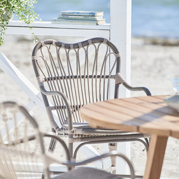 Margret Outdoor Rattan Dining Chair - Moccachino