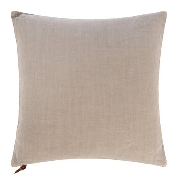 Pure Washed Linen Cushion - 45x45cm - Natural