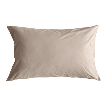 Pure Washed Cotton Pillowcase - Pink - 50x75cm