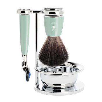Rytmo Fusion Razor Shaving Set - Set Of 4 - Mint