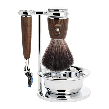 Rytmo Fusion Razor Shaving Set - Set Of 4 - Steamed Ash