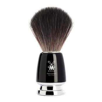 Rytmo Vegan Shaving Brush - Black