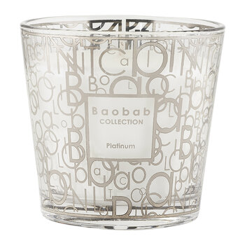 My First Baobab Scented Candle - Platinum