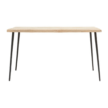 Club Dining Table - Natural Wood - Small