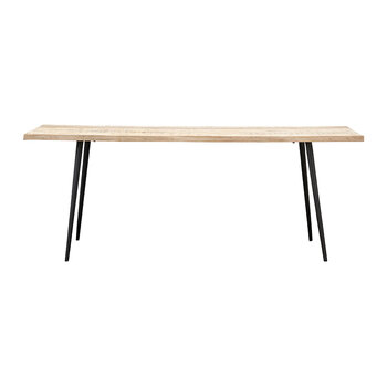 Club Dining Table - Natural Wood - Large