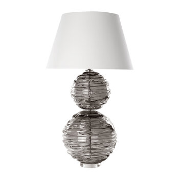 Alfie Crystal Table Lamp - Slate