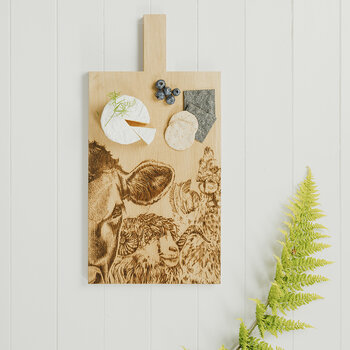 Oak Serving Paddle - Large - Country Friends