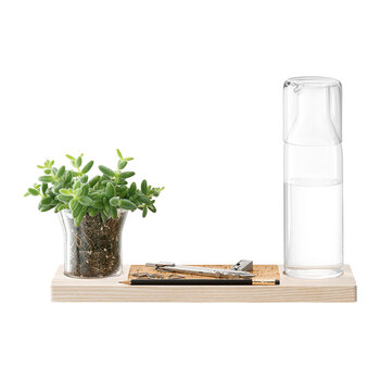 Plateau Duo Set - Clear