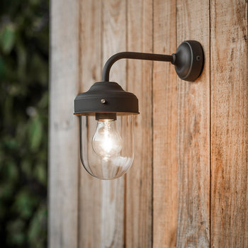 Barn Lamp - Coffee Bean