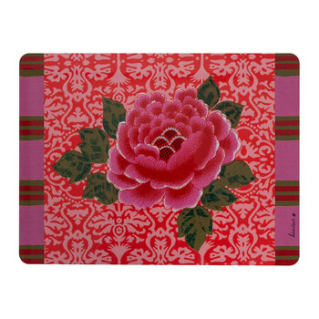 Japanese Flower Placemat - Pink