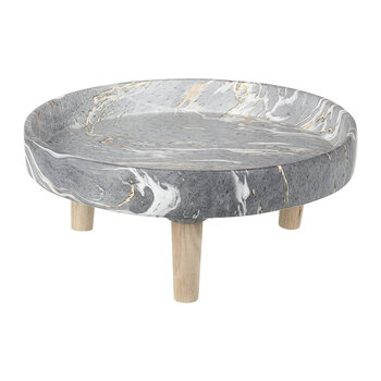Marble Cement Tray - Gray