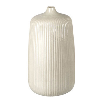 Kennedy Ceramic Vase - Light Grey