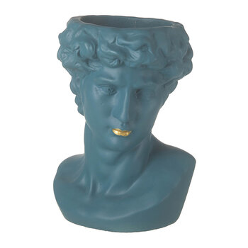 Sebastian Planter - Teal/Gold