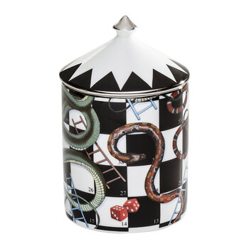 Snakes & Ladders Lidded Candle - Oud Imperial