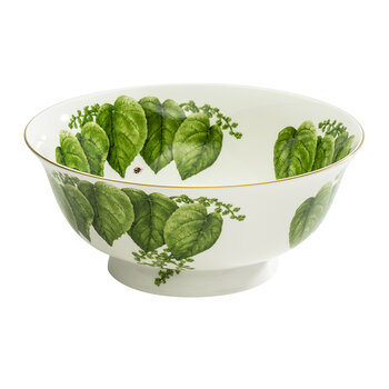 Al Fresco Canterbury Bowl - Green/White