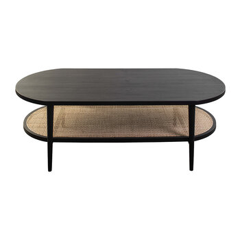 Aaram Coffee Table - Black Ash