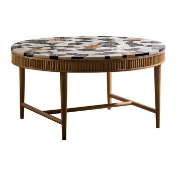 Mausam Coffee Table - Natural Ash/Terazzo