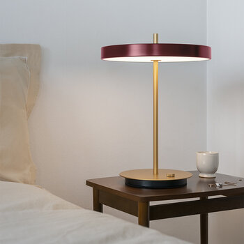 Asteria Move Table Lamp - Ruby Red
