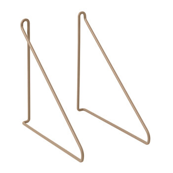 Panola Wires For Wall Shelf - Set Of 2 - Nomad