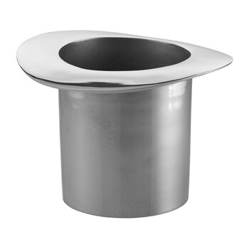 Top Hat Champagne Cooler - Silver