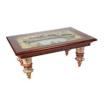 Diorama Cocktail Table - Brown