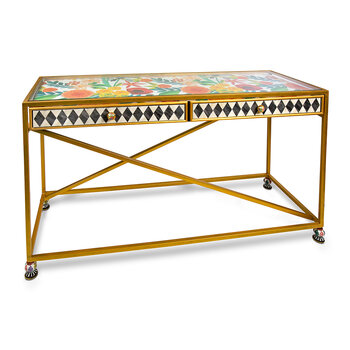 Ogee Console Table - Multi