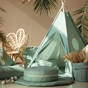 Teepee Set - Minty Green