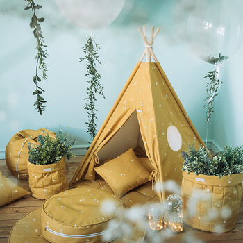 Teepee Set - Honey Mustard