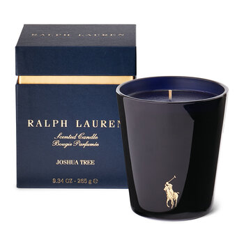 Joshua Tree Scented Candle - Blue