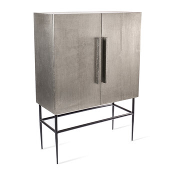 Pits Cabinet  - Silver - Middle