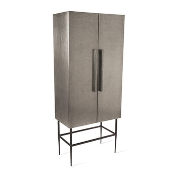 Pits Cabinet  - Silver - Tall