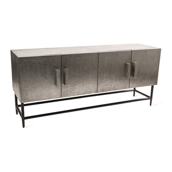 Pits Cabinet  - Silver - Low