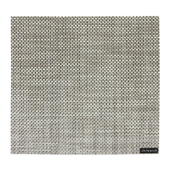 Basketweave Square Placemat - Oyster