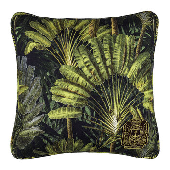 Travelers Palm Printed Pillow - Multi