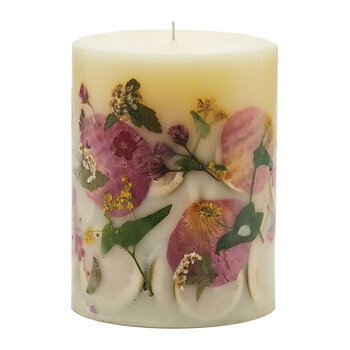Rosy Rings 200 Hour Botanical Candle - Lemon Blossom & Lychee