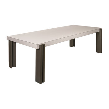Alfabeta Dining Table - Stone G83/Brown G09
