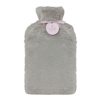 Deluxe Hot Water Bottle - Smokey Grey