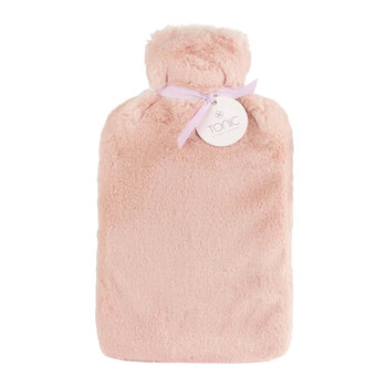 Deluxe Hot Water Bottle - Dusty Rose