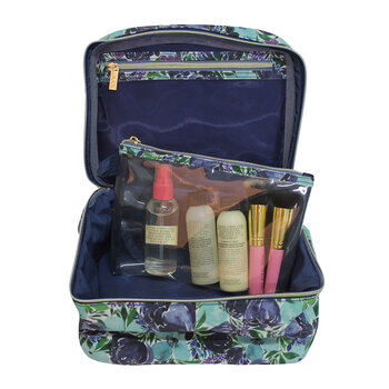 Make Up Case - Flourish Blue