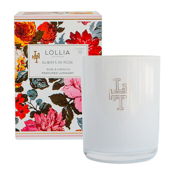 Imagine Luminary Scented Candle - Willow & Lotus