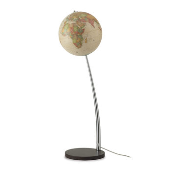 Vertigo Antique Freestanding Globe - 37cm