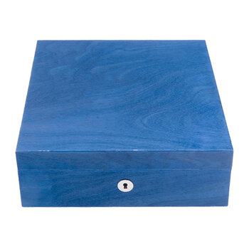 Heritage Four Watch Box - Blue