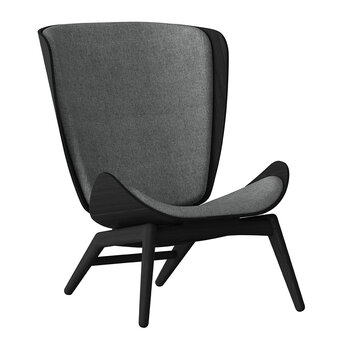 The Reader Chair - Black - Slate Grey