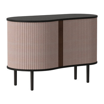 Audacious Cabinet - Black - Dusty Rose
