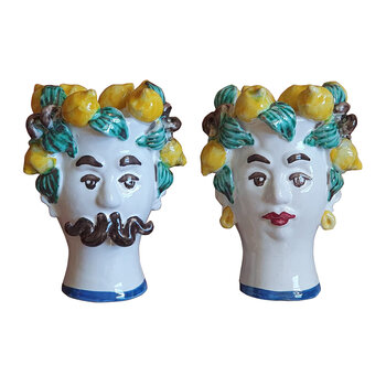 Sicily Couple Vase - Set of 2