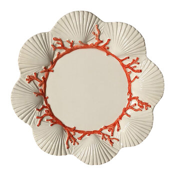Saint Jacques Ceramic Hand-painted Plate - Side Plate