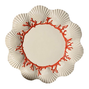 Saint Jacques Ceramic Hand-painted Plate - Dinner Plate