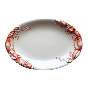 Shell Collection Seafood Platter - White/Red